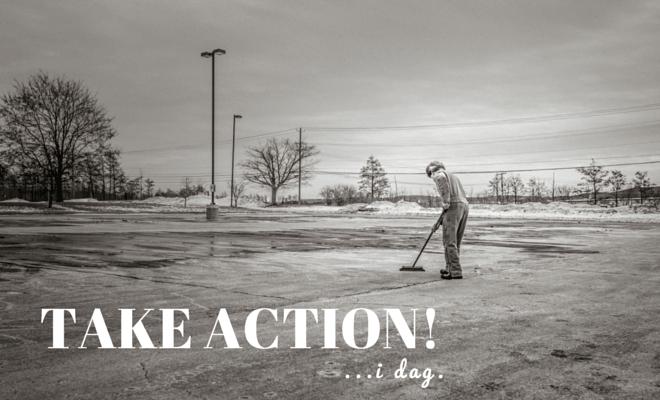Take action og bliv mere effectiv